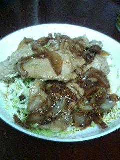 昨晩の夕飯