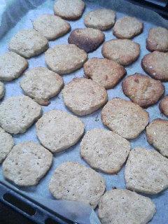 米ぬかクッキー