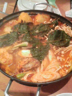 鍋の〆は雑炊ですネ